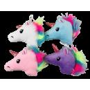 Cabeza de unicornio, 15 x 13 cm