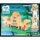 FabBrix blocs de construction en bois monstre 3 en