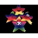 Ster- Kussens regenboogkleurig, 33cm