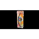 Bow and arrow on card, 58cm x 21 cm