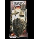 Knight set on card, 63.5cm