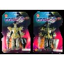 Robot avec lumière, 2 couleurs, 20 x 30cm