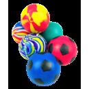 Balle rebondissante dans le sac, colorée assorti ,