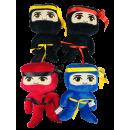 Großhandel Puppen & Plüsch:Ninja, 22cm