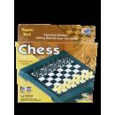 Sakk utazási játék, mágneses 18cm x 18cm
