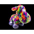 grossiste Poupees et peluches:Hippo arc-en-ciel 60cm