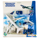 Airplane set with accessories, 31 x 28cm