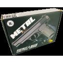 Pistolet à billes partiellement en métal, 21 x 15