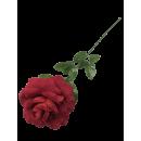 grande rose déco ROUGE, 70 cm