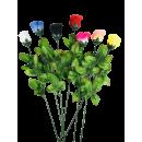 Rose Baccara colorée 65 cm, 7 couleurs