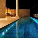 LED pool lighting, RGB pool lamp (16 pcs