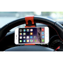 Universal handlebar phone holder