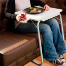 Dining table with cup holder