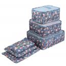 6-teiliges Koffer-Organisationsset Blau