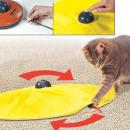 Muizenval met interactief kattenspeelgoed