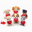 groothandel Geschenkartikelen: Valentijnsdag loyaliteit hondje