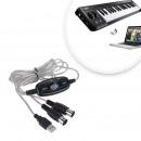 wholesale Computer & Telecommunications: USB MIDI cable USB MIDI adapter