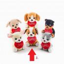 groothandel Geschenkartikelen: Valentijnsdag loyaliteit puppy is levensecht