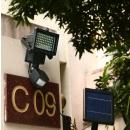 wholesale Garden Decoration & Illumination: Motion-sensing solar lamp