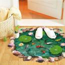 grossiste Meubles de jardin: Décoration de sol de motifs de bassin de jardin
