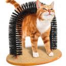 Magical curved cat brush