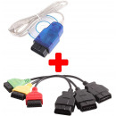 FIAT Diagnostics FiatEcuScan Kit Interface + Cable