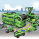 wholesale RC Toys:7 in 1 Solar Robot