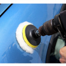 wholesale Car Care: 4pcs Car Polishing Set Adapter
