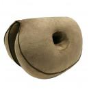 Seat cushion, waist cushion, posture cushion Brown