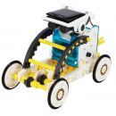 13 in 1 solar powered robot