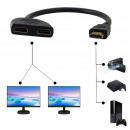wholesale DVD & TV & Accessories: DUAL HDMI cable HDMI hub - Same picture more