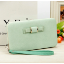 wholesale Handbags: Women's clutch bag in light green