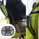 Ergonomic backrest