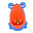Großhandel Kinder- und Babyausstattung: Unterhaltsames -Wand-Kleinkind Urinal in Blau-Orang