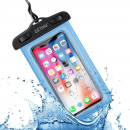 wholesale Computer & Telecommunications: Watertight phone holder pouch blue
