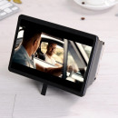 Telescopic Cell Phone Display Magnifier - Black