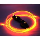 Verlichte schoenveters 1 paar LED-veters Oranje ge