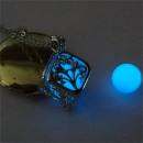 grossiste Chaines: Collier secret lumineux - cadeau parfait bleu