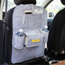 wholesale Car accessories: Car seat storage Light Gray