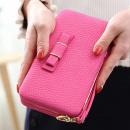 wholesale Wallets: Women's clutch bag in pink