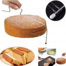 Cake slicer, cake cutter, sponge cake slicer