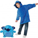 wholesale Childrens & Baby Clothing: Plush Hoodie For Kids Blue