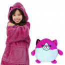 wholesale Childrens & Baby Clothing: Plush Hoodie For Kids Pink