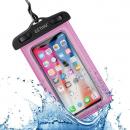 wholesale Computer & Telecommunications: Watertight phone case, waterproof phone case Pink