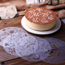 wholesale Household & Kitchen: Set of Cake Decorating Template with 4 ...
