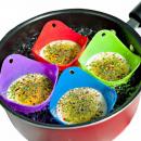 grossiste Gratin moule a patisserie: Friteuse à œufs en silicone / moule de cuisson 2 p