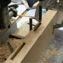 Square hole drill