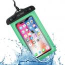 wholesale Computer & Telecommunications: Watertight phone pouch green