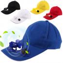 Großhandel Kopfbedeckung: Solar Baseball Cap mit Solarkappe