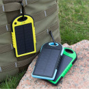 Watertight solar charger, power bank